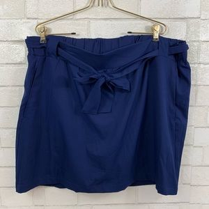 ST. JOHNS BAY BLUE SKORT ACTIVE WEAR SIZE 1X